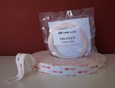 3M 4932 P VHB oboustranně lepící páska bílá návin 3m