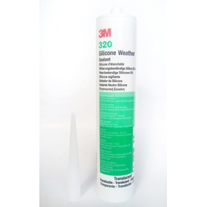3M™ 320 silikonový tmel tranparent