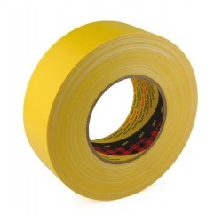 3M 389 textilní voděodolná páska žlutá