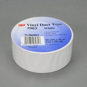 3M 3903 vinylová páska bílá