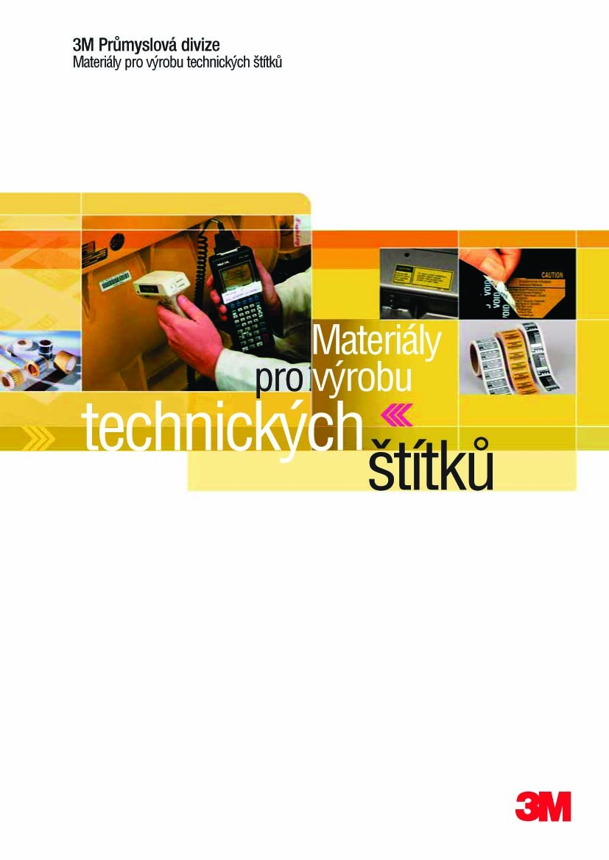Materiály pro výrobu technických štítků