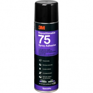 3M™ Scotch-Weld 75 lepidlo ve spreji 500ml
